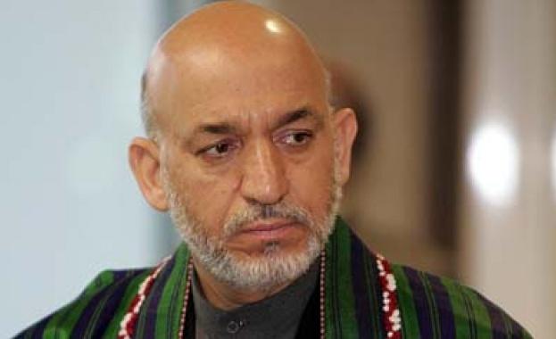 Афганистанския президент Карзай