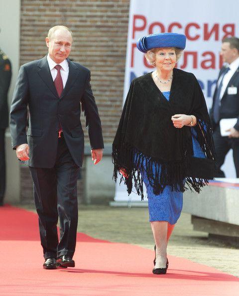 Vladimir+Putin+Meets Queen Beatrix