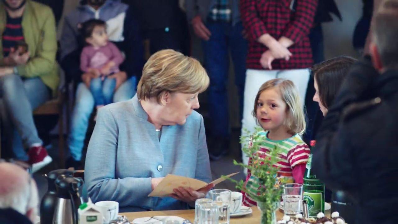 Der TV-Spot von Angela Merkel für die Bundestagswahl