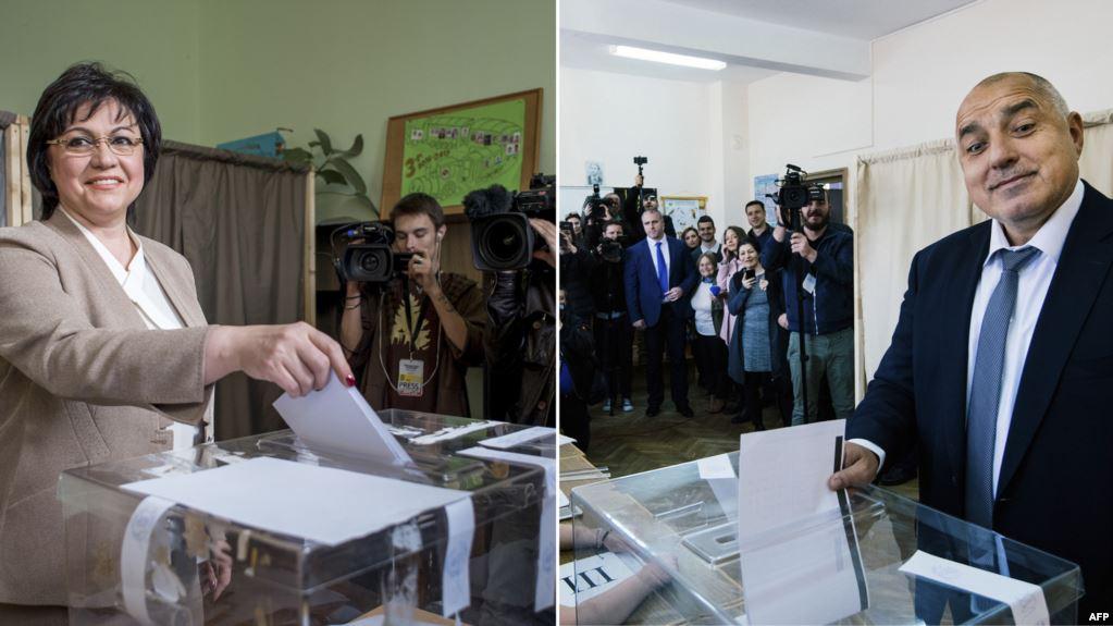 Нинова и Борисов-България