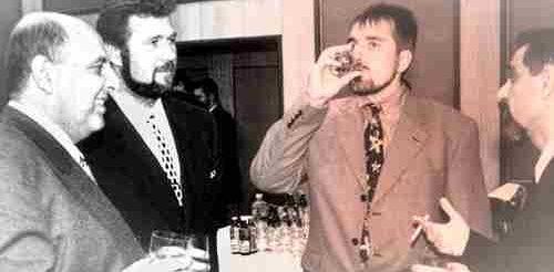 Отляво надясно са Венцислав Стефанов, Румен Николов-Пашата, Бойко Борисов