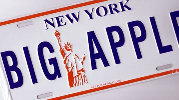 Why is New York City called the big apple