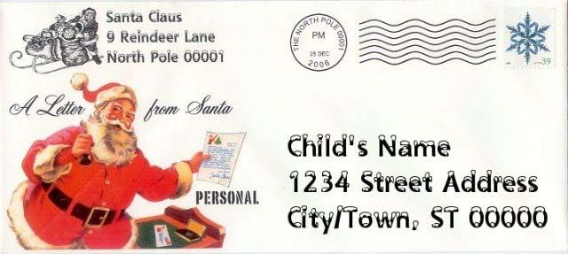 Писмо до Дядо Мраз
