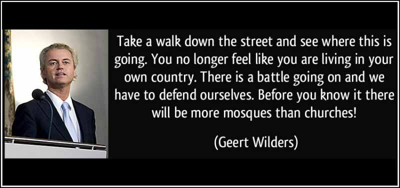 Dutch Freedom Party Geert Wilders