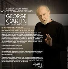 Размисли на Джордж Карлин за живота
