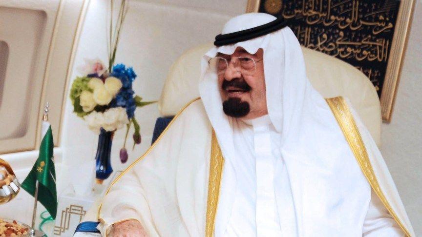 Крал Абдула на Саудитска Арабия