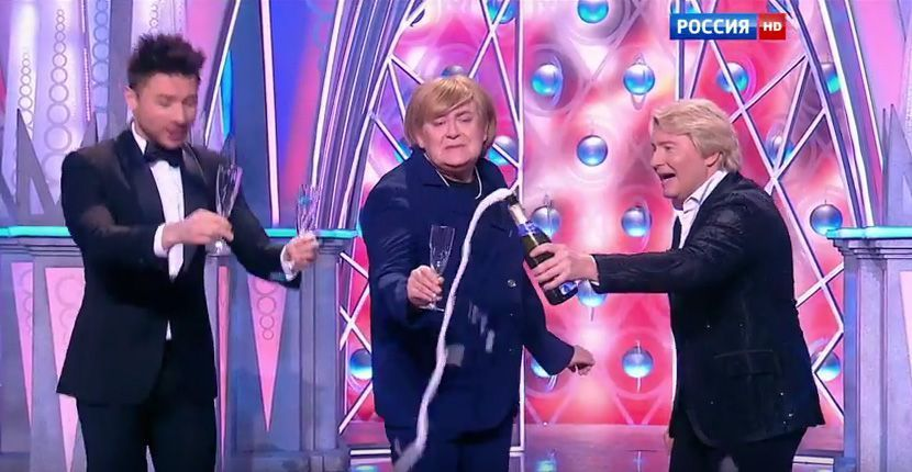New Year TVshow 2016 Russia