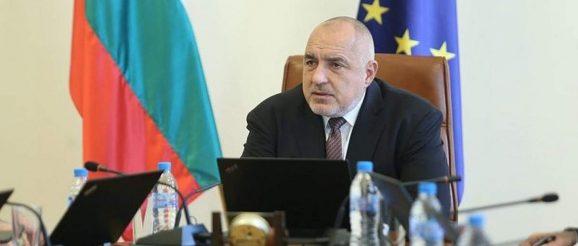 Премиерът Борисов България