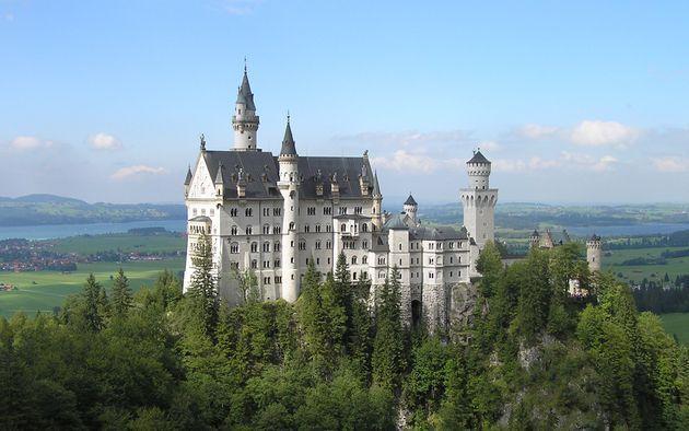 Най-красивите замъци в Германия