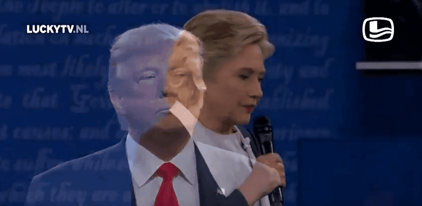 Donald Trump and Hillary Clinton sing