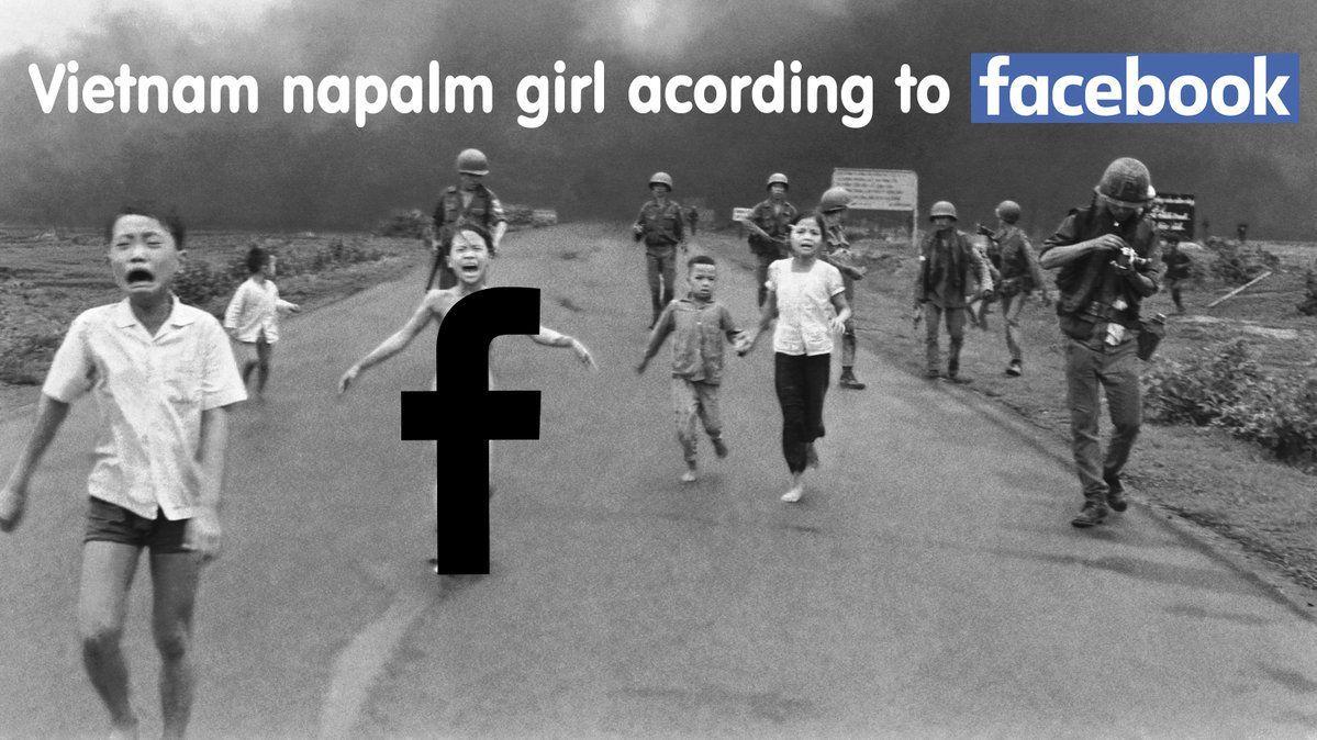 Napalm Girl Facebook иска по-малко цензура на новините