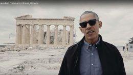 President Obama in Athens Greece