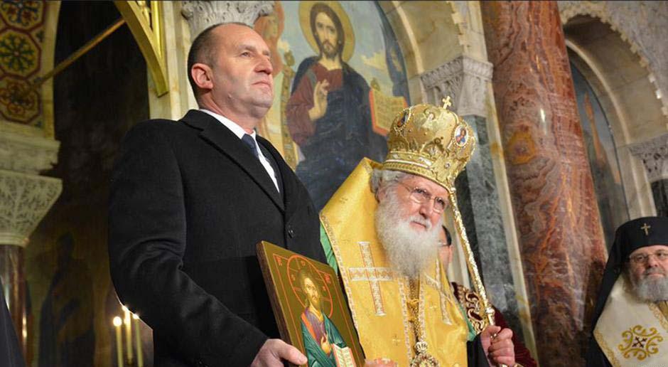 Румен Радев присъствието на патриарха
