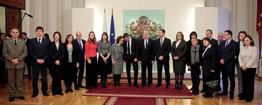 Церемония по встъпване в длъжност на новата президентска администрация, 22 януари 2017г., сн. Ivan Stoimenov С благодарности към екипа на президента Плевнелиев, който оказа съдействие.