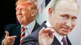 Donald Trump loves Vladimir Putin