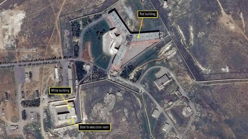 Амнести интернешънъл сирийския затвор
