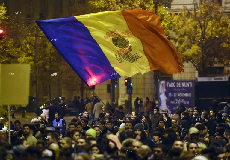 Един възмутен президент Румъния