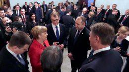 Румен Радев с канцлерката Ангела Меркел