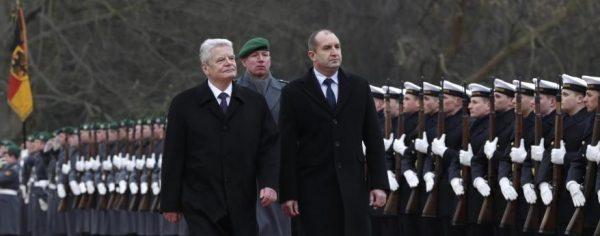 Gauck-Radev в Берлин