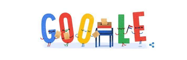 Google Nederland Verkiezingen 15 maart 2017