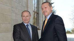 Rusland Poetin en Erdogan Turkije