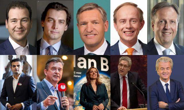 verkiezingen 2017 alle politicus
