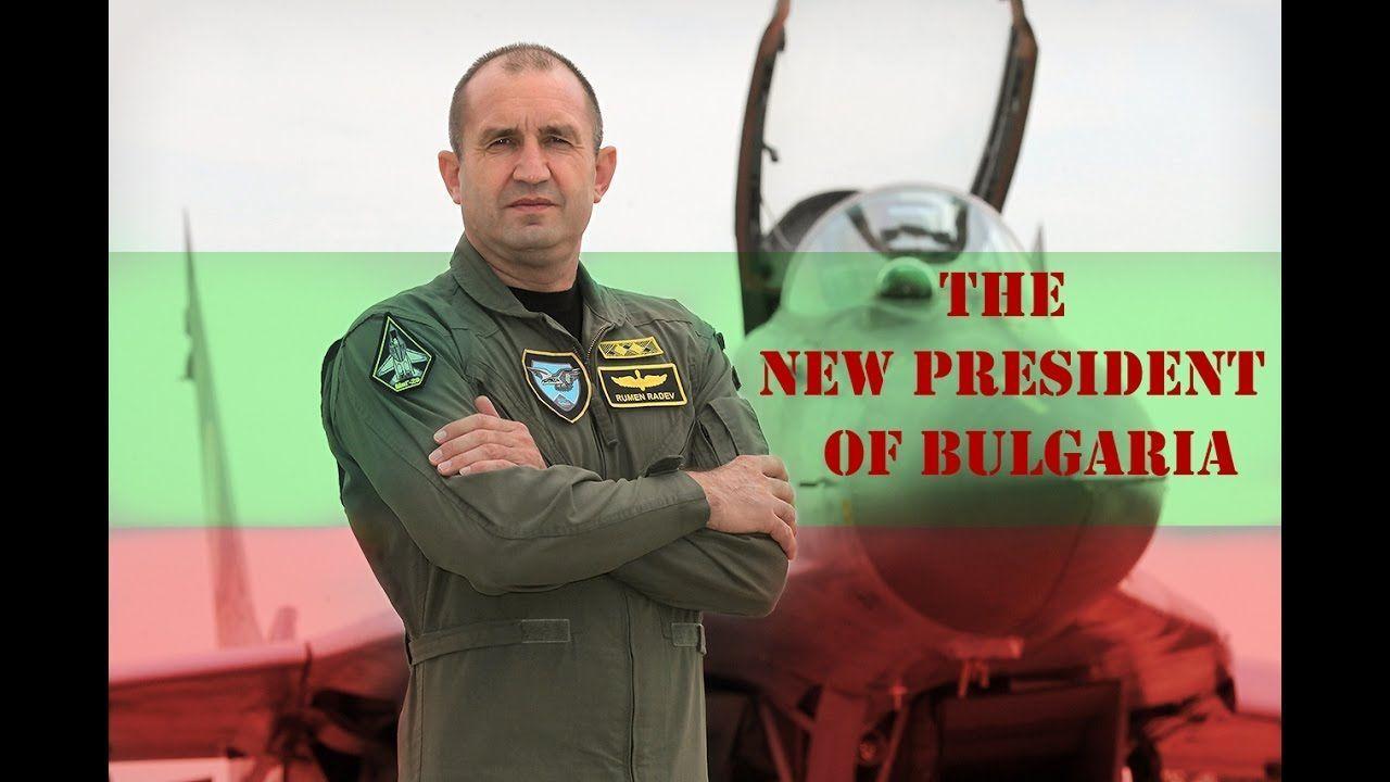 De Bulgaarse presidentskandidaat Rumen Radov
