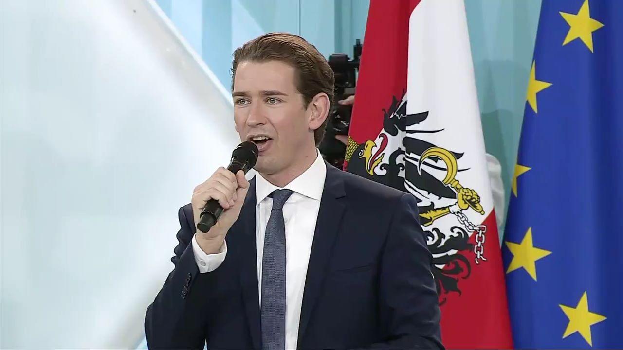 Sebastian Kurz Dankje
