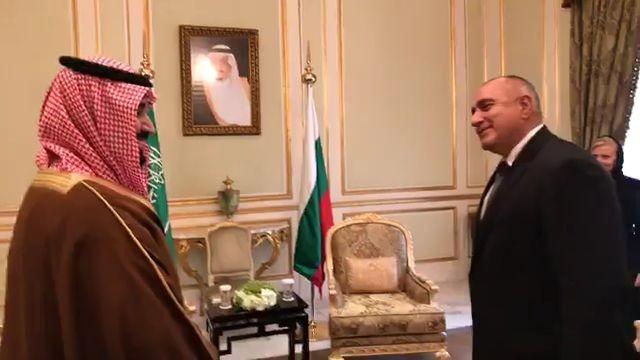 Среща с престолонаследника на Саудитска Арабия принц Мохамед бин Салман