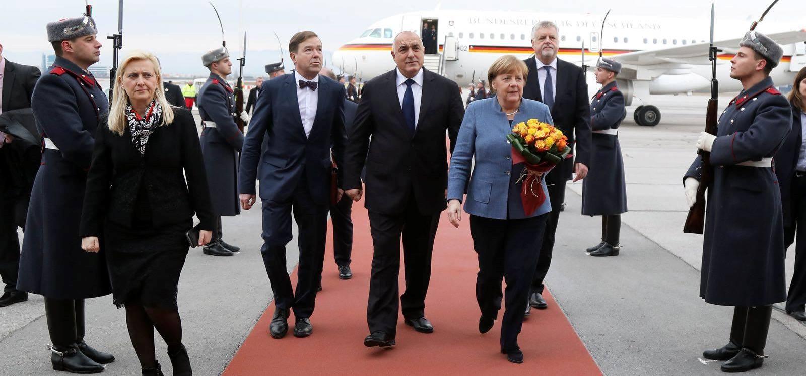 Какво обсъдиха Меркел и Борисов в София?