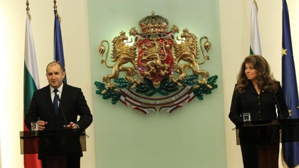 Изявление на президента Румен Радев и Изявление на вицепрезидента Илияна Йотова по време на отчетната пресконференция по повод годишнината от встъпване в длъжност