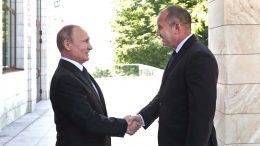 Среща с президента на Руската федерация Владимир Путин в Сочи.