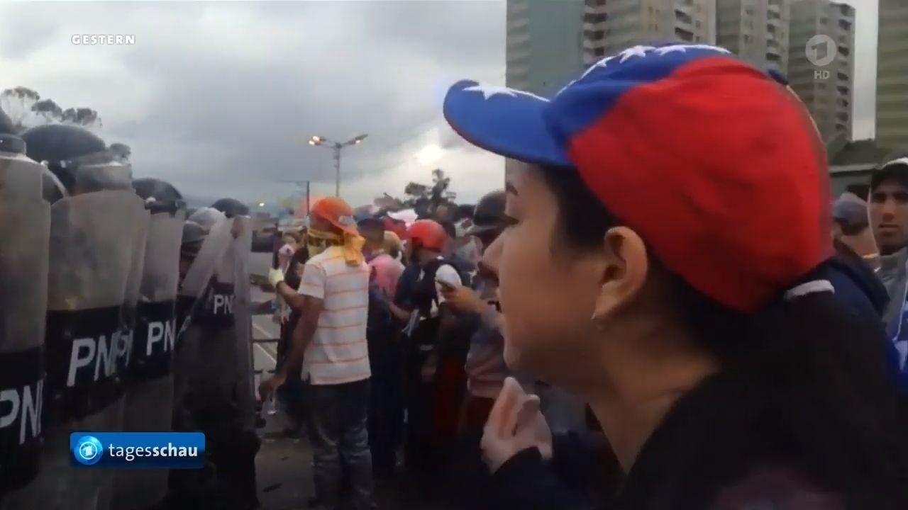 Protesten in Venezuela картинка