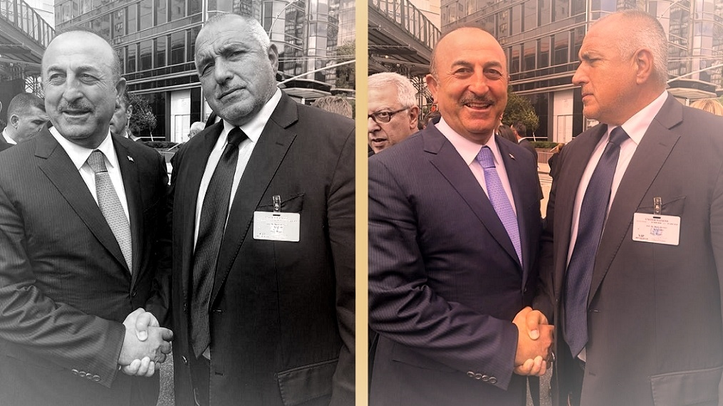 Мевлут Чавусоглу и Бойко Борисов