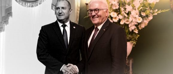Президент Румен Радев и президент Франк-Валтер Щайнмайер