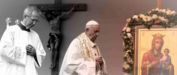 Папа Франциск на посещение в България