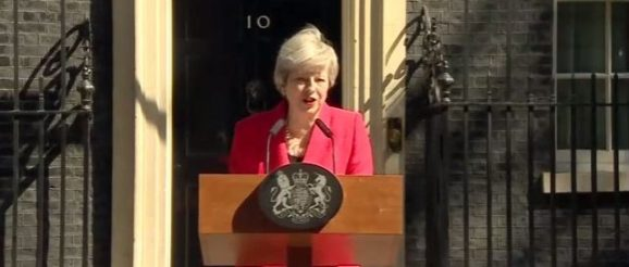 Theresa May makes a statement in... - UK Prime Minister