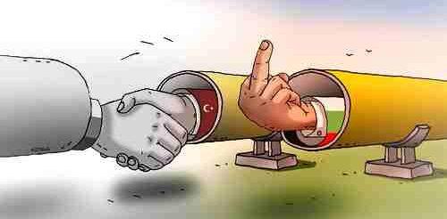 Турски поток Карикатура