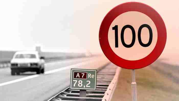 В Нидерландия: вече само до 100 км/ч