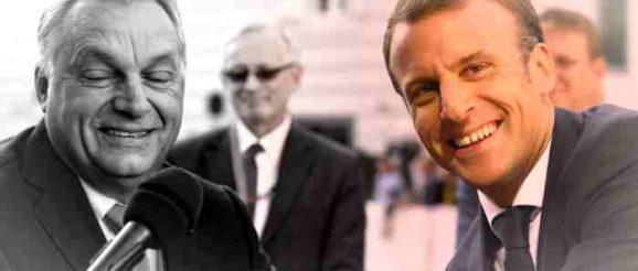 Орбан и Макрон