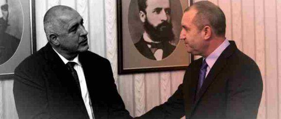 Бойко Борисов е видимо ядосан на президента Румен Радев
