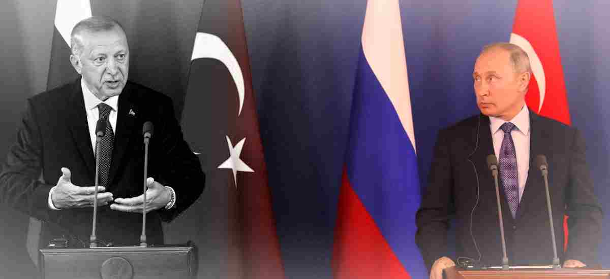 Russia and Turkey